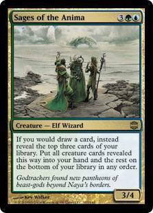 Sages of the Anima Magic Card