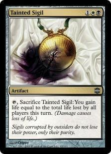Tainted Sigil Magic Card