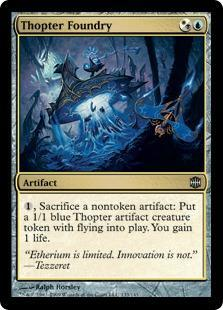Thopter Foundry Magic Card