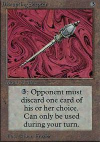 Disrupting Scepter Magic Card