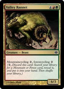 Valley Rannet Magic Card