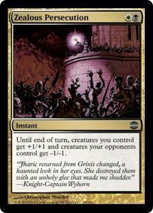 Zealous Persecution Magic Card