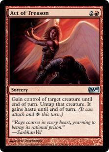Act of Treason Magic Card