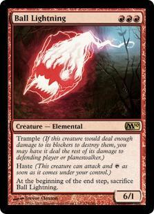 Ball Lightning Magic Card