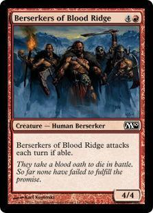 Berserkers of Blood Ridge Magic Card