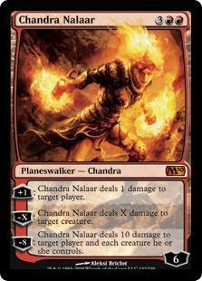 Chandra Nalaar Magic Card