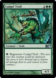 Cudgel Troll Magic Card