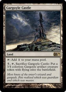 Gargoyle Castle Magic Card