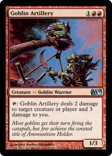 Goblin Artillery Magic Card