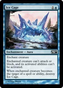 Ice Cage Magic Card
