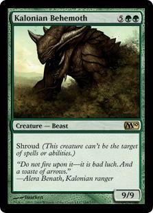 Kalonian Behemoth Magic Card