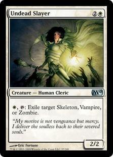 Undead Slayer Magic Card