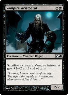 Vampire Aristocrat Magic Card