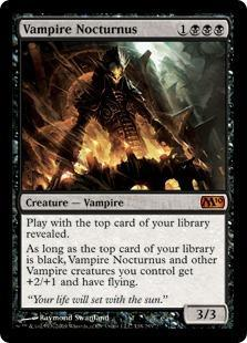 Vampire Nocturnus Magic Card