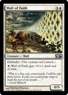Wall of Faith Magic Card