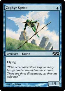 Zephyr Sprite Magic Card