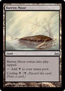 Barren Moor Magic Card