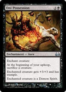 Oni Possession Magic Card