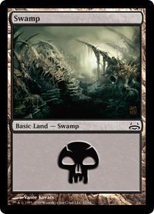 Swamp Magic Card