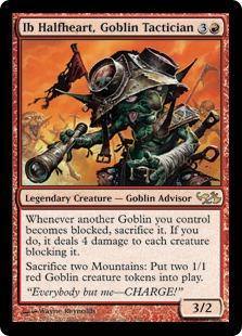 Ib Halfheart, Goblin Tactician Magic Card