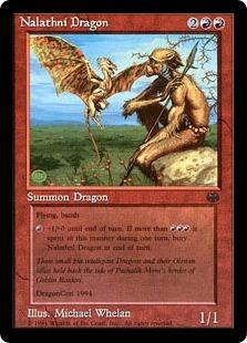 Nalathni Dragon Magic Card