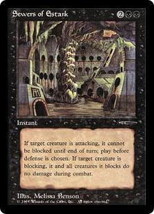 Sewers of Estark Magic Card