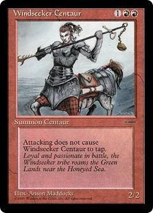 Windseeker Centaur Magic Card