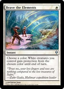 Brave the Elements Magic Card