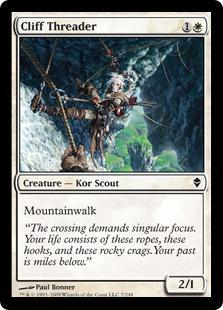 Cliff Threader Magic Card
