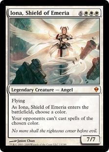 Iona, Shield of Emeria Magic Card