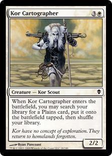 Kor Cartographer Magic Card
