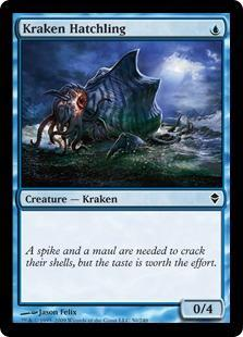 Kraken Hatchling Magic Card