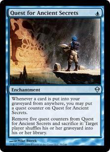 Quest for Ancient Secrets Magic Card