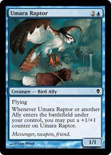 Umara Raptor Magic Card