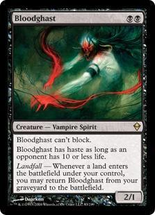 Bloodghast Magic Card