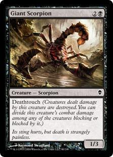 Giant Scorpion Magic Card