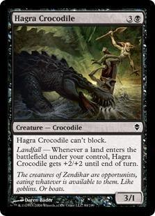 Hagra Crocodile Magic Card