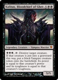 Kalitas, Bloodchief of Ghet Magic Card
