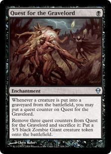 Quest for the Gravelord Magic Card