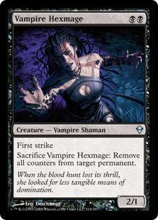 Vampire Hexmage Magic Card