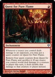 Quest for Pure Flame Magic Card