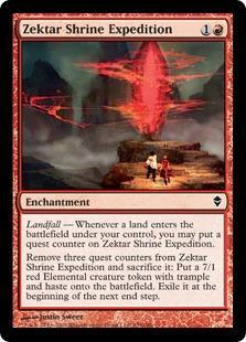 Zektar Shrine Expedition Magic Card