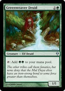 Greenweaver Druid Magic Card