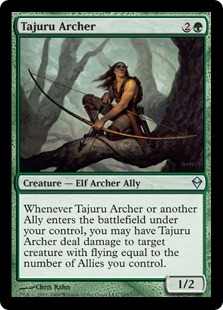 Tajuru Archer Magic Card