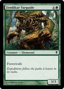 Zendikar Farguide Magic Card