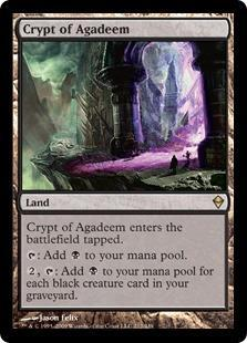 Crypt of Agadeem Magic Card