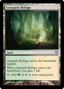Graypelt Refuge Magic Card