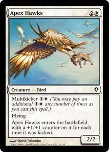 Apex Hawks Magic Card
