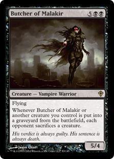 Butcher of Malakir Magic Card