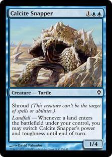 Calcite Snapper Magic Card